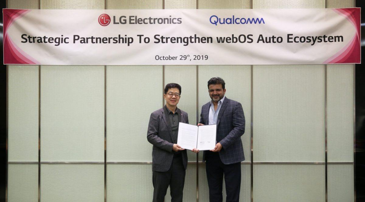 webOS Auto – nowy system LG i Qualcomma dla samochodów