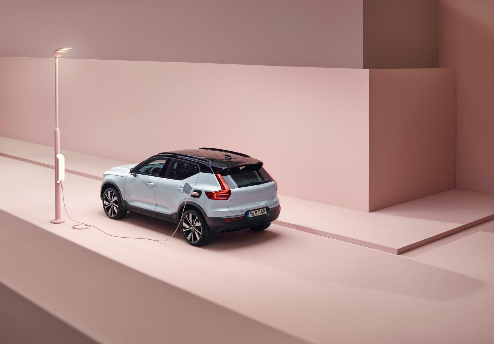 Volvo XC40 Recharge już oficjalnie. Oto pierwszy samochód z nowym Androidem 21