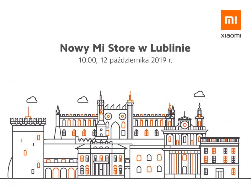 Kolejny sklep Xiaomi Mi Store zostanie otwarty w Lublinie - 12 października