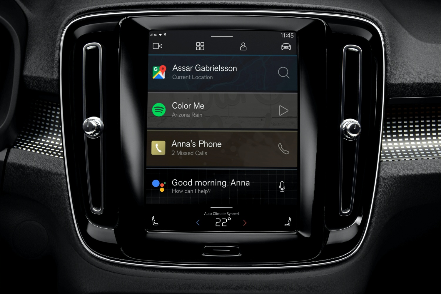 Android Automotive w Volvo