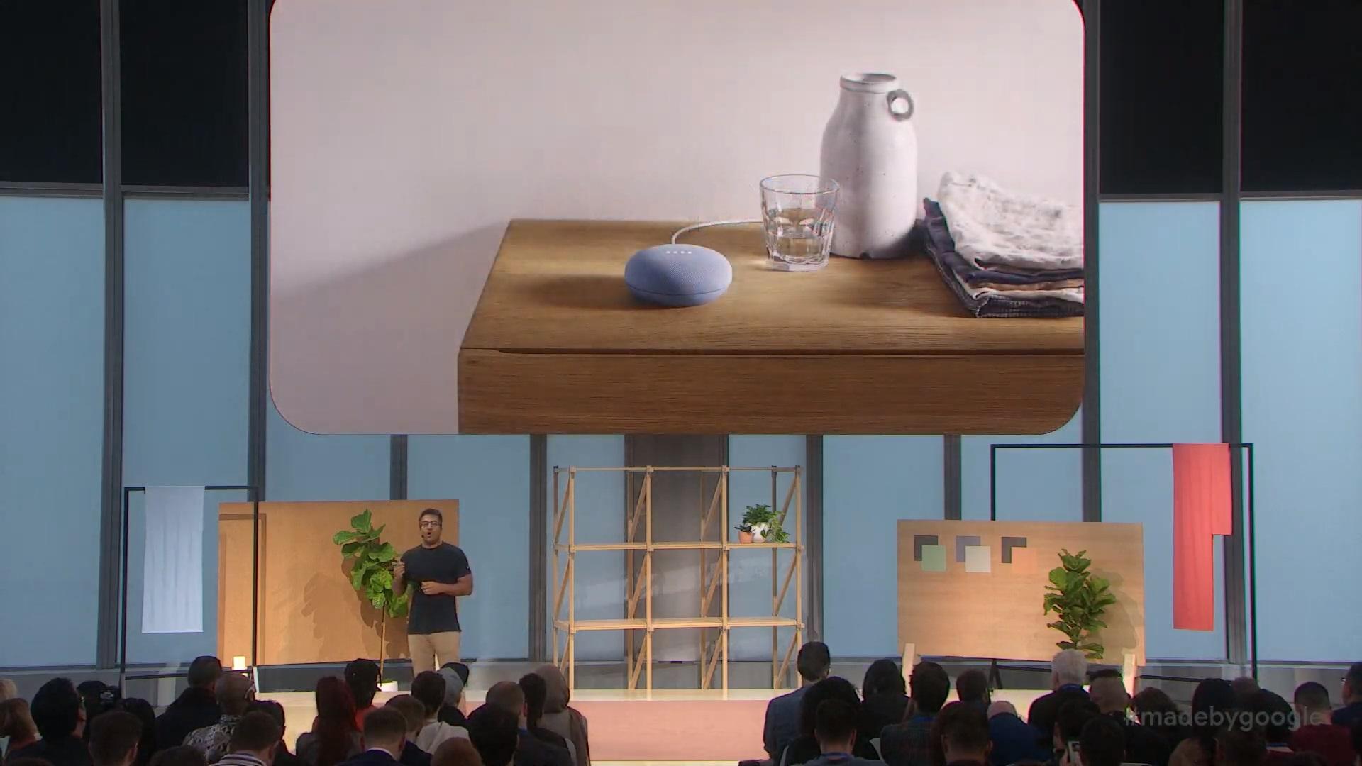 Google Nest Mini to nowy, mały głośnik z Asystentem Google