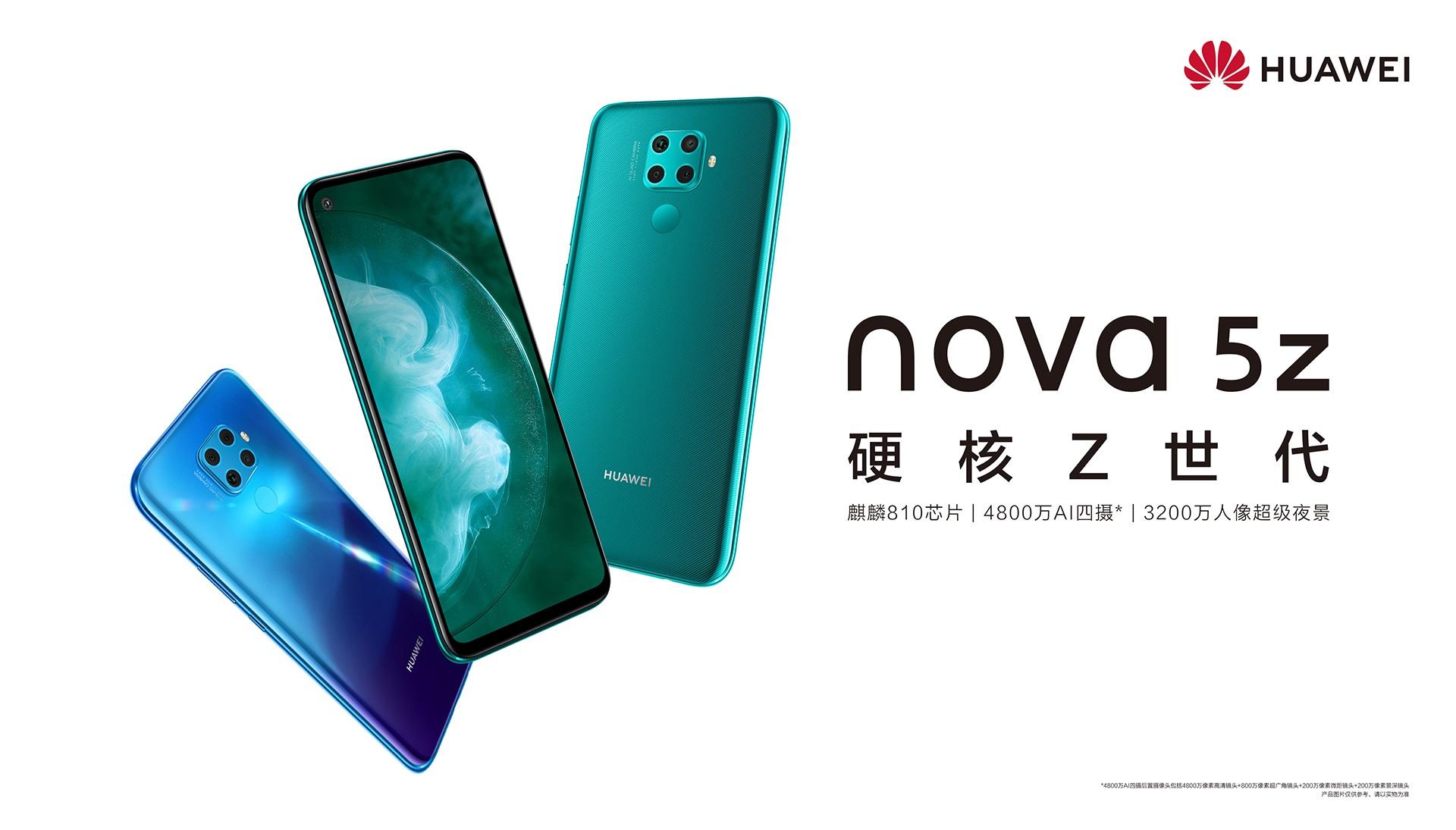 smartfon Huawei Nova 5z