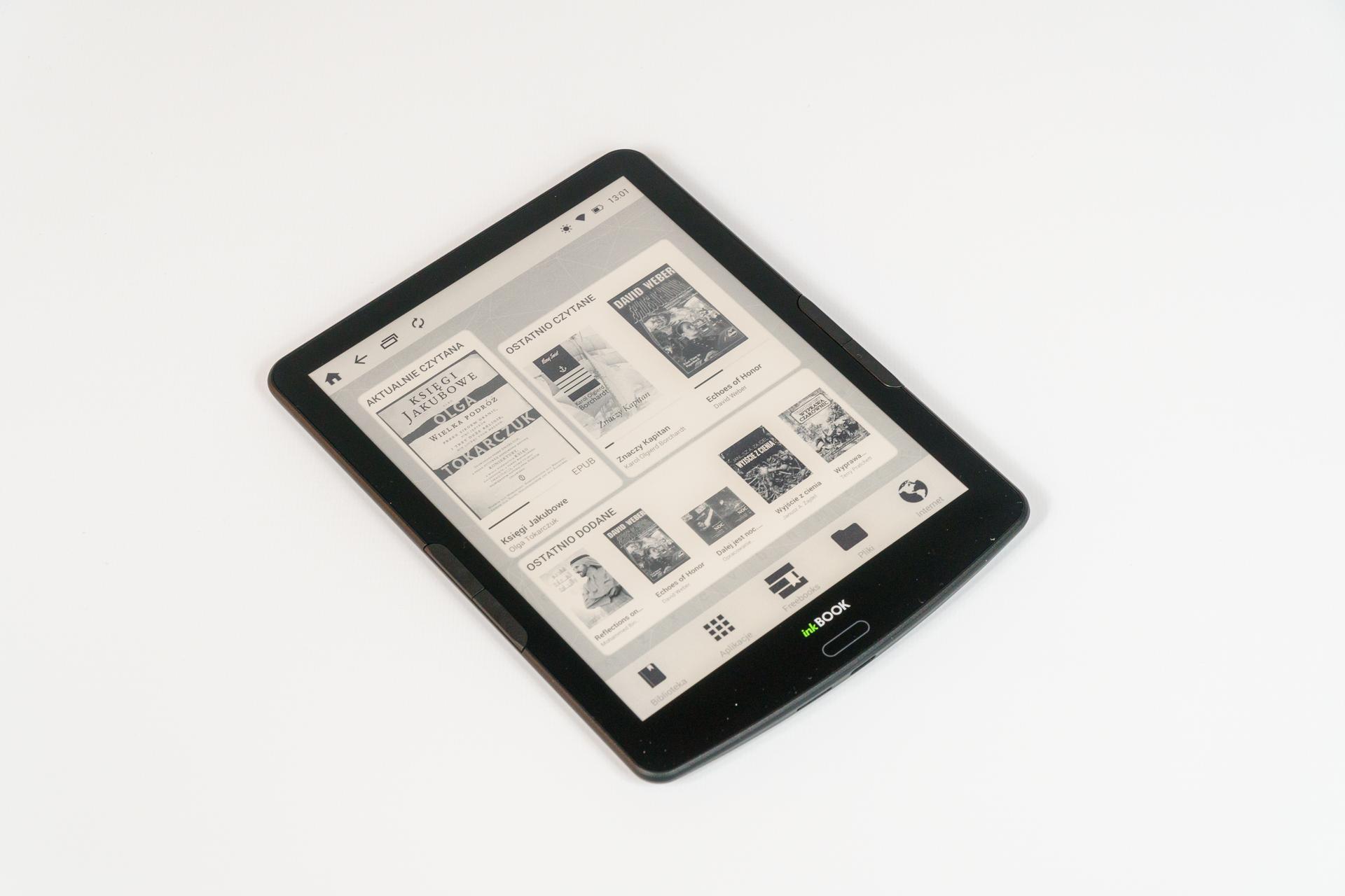 Czytnik InkBOOK Explore - duży ekran i Android na pokładzie (recenzja)