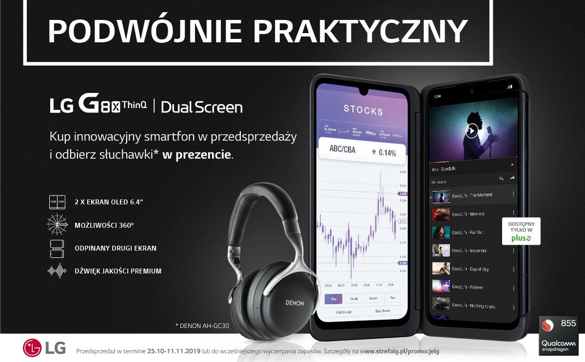przedsprzedaż LG G8X ThinQ w Polsce