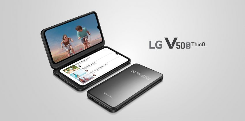 smartfon LG V50S ThinQ i LG Dual Screen