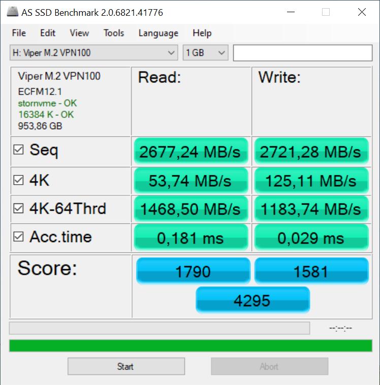 Recenzja Patriot Viper VPN100 - czy SSD powinien mieć chłodzenie? 36