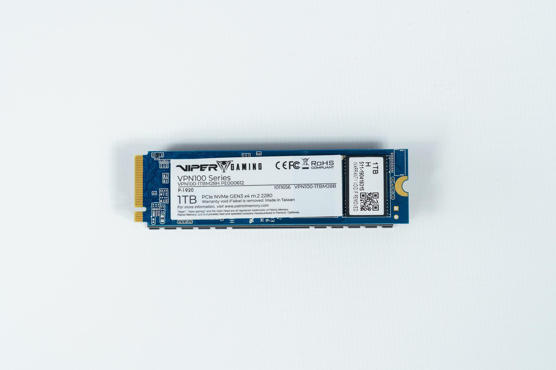 Recenzja Patriot Viper VPN100 - czy SSD powinien mieć chłodzenie? 43