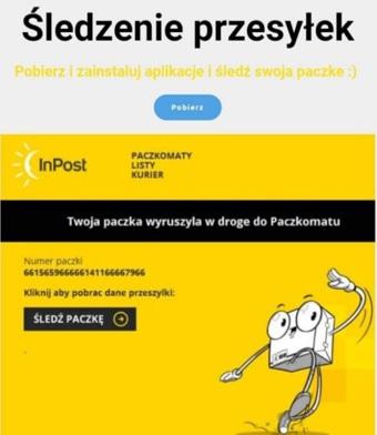 """InPost ostrzega: Uważajcie na fałszywe SMS-y z linkiem do """"nowej aplikacji"""""""