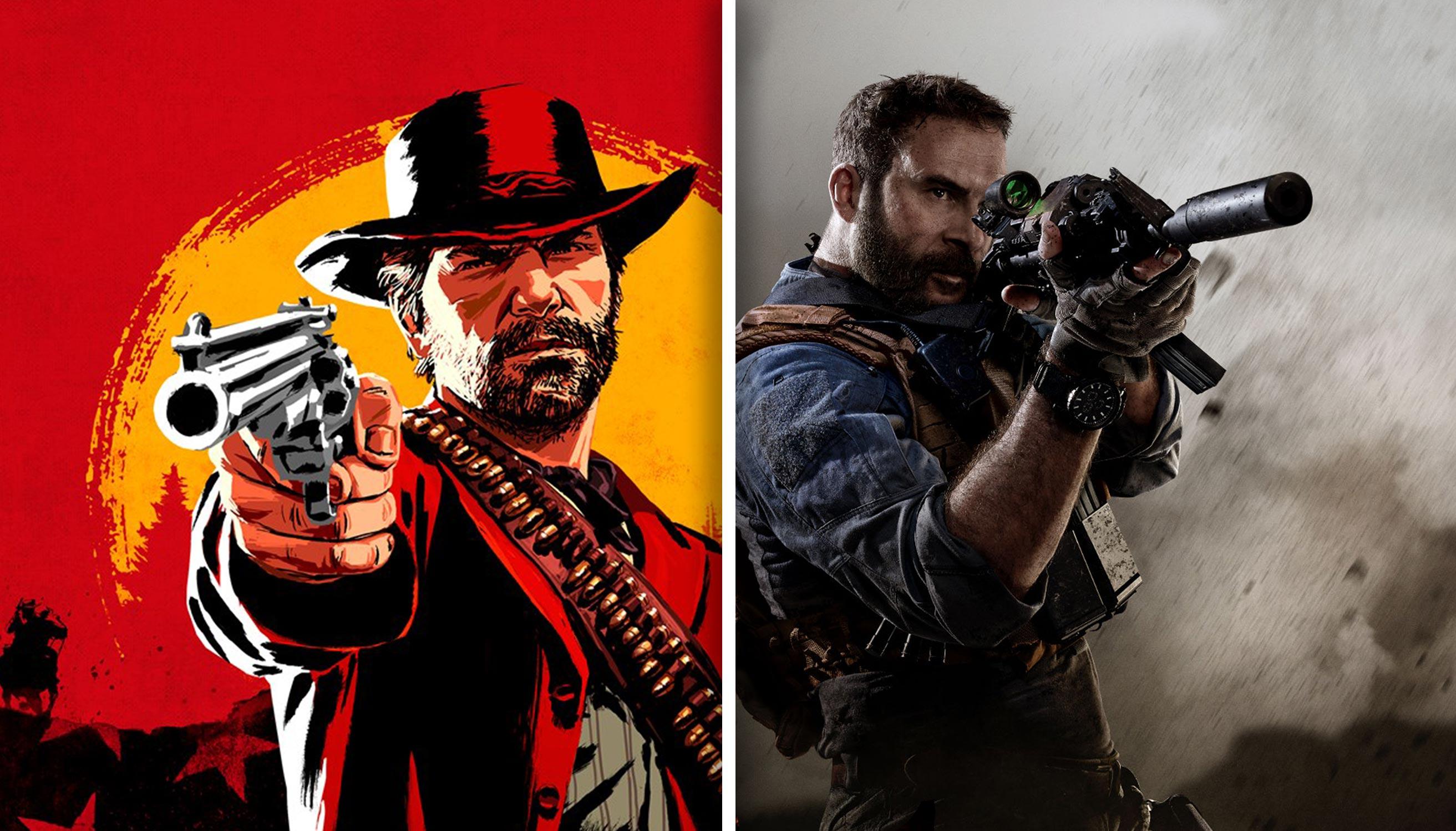 Poznaliśmy wymagania Red Dead Redemption II i Call of Duty: Modern Warfare - przygotujcie duuuużo miejsca na dysku 23