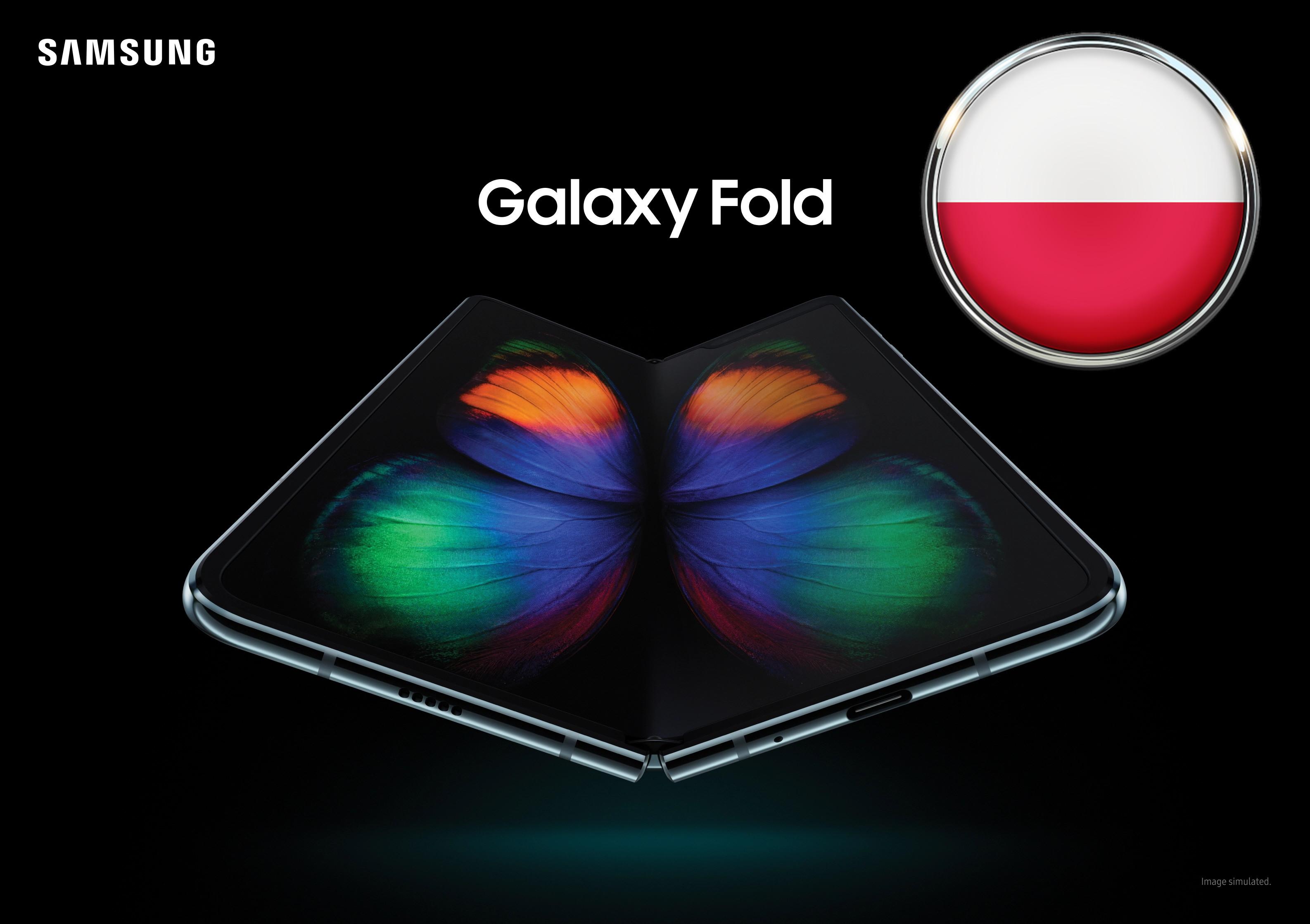 Samsung podaje datę premiery składanego Galaxy Fold w Polsce, ale o cenie nie piśnie ani słowa
