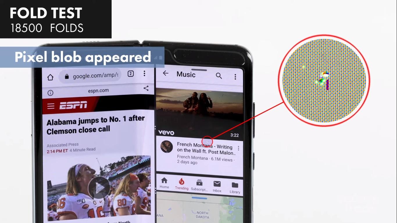 Samsung Galaxy Fold - test