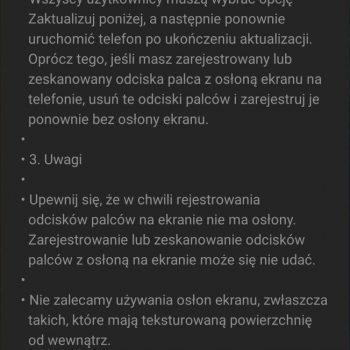 Tę aktualizację dla Galaxy S10 i Galaxy Note 10 musisz zainstalować 20