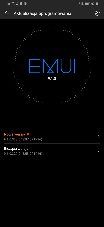 Huawei Mate 20 oraz Mate 20 Pro otrzymują poprawki wrześniowe