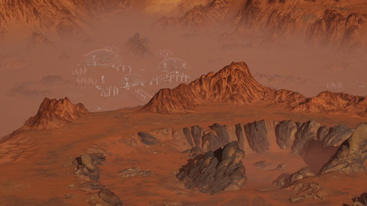 Symulator zarządzania miastem na Marsie za darmo w Epic Games Store 16