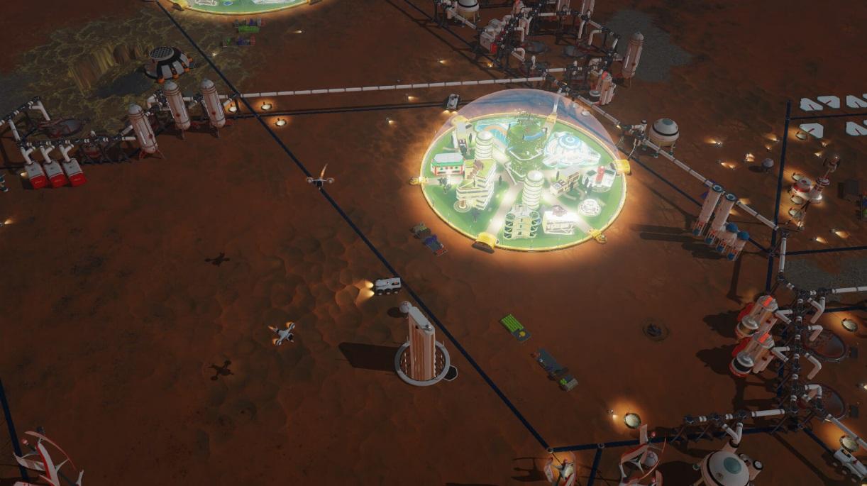 Symulator zarządzania miastem na Marsie za darmo w Epic Games Store 17