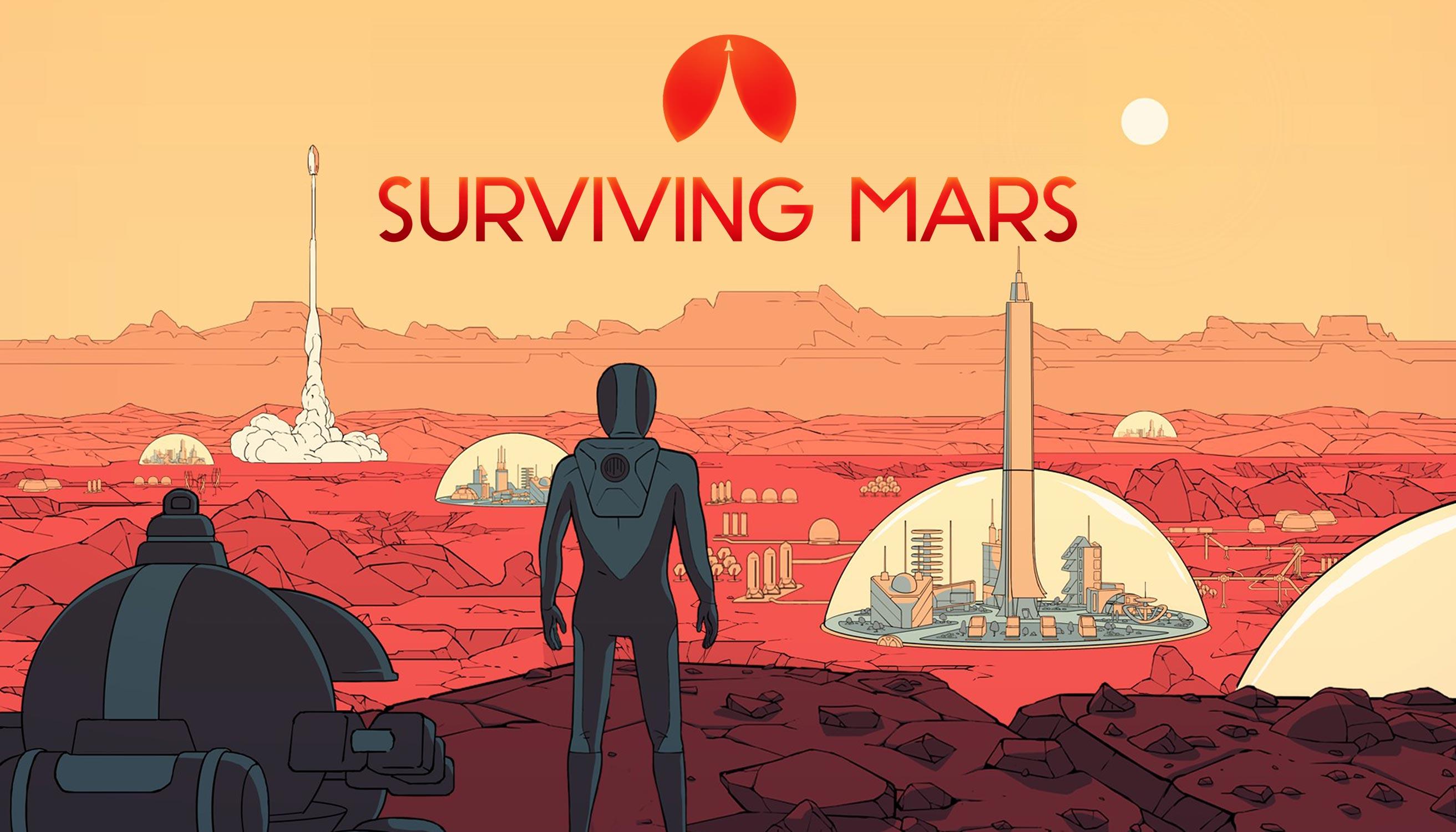 Symulator zarządzania miastem na Marsie za darmo w Epic Games Store 15