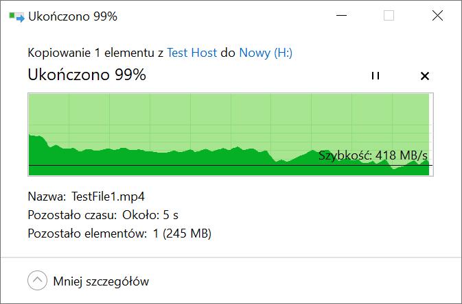 Recenzja Patriot Viper VPN100 - czy SSD powinien mieć chłodzenie? 31