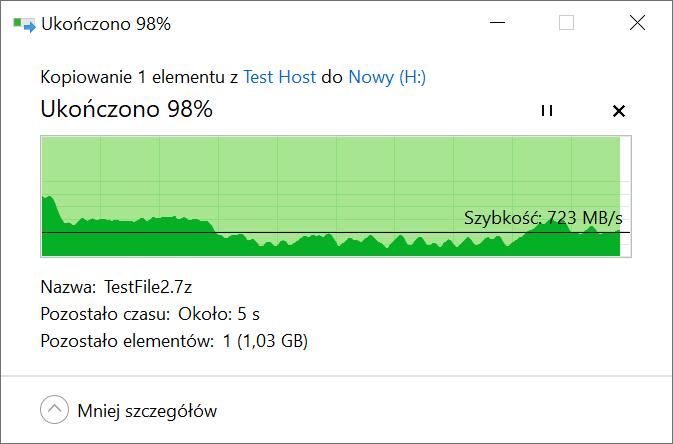Recenzja Patriot Viper VPN100 - czy SSD powinien mieć chłodzenie? 32