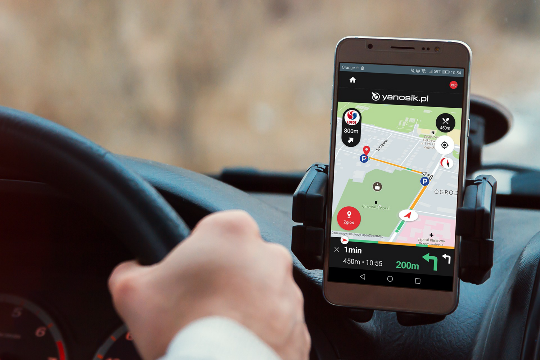 Yanosik już wkrótce pojawi się w wersji na Android Auto