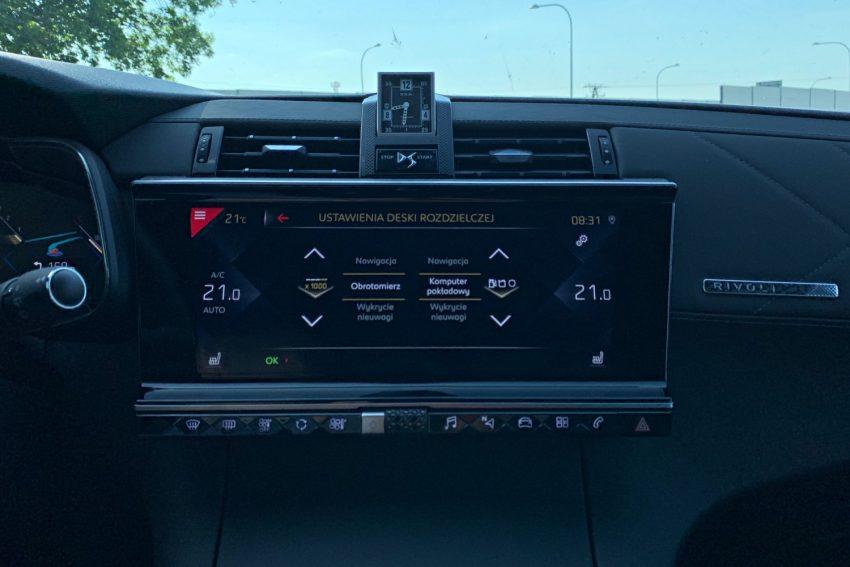 DS 7 Crossback - francuska awangarda w technologii i oprogramowaniu (test)