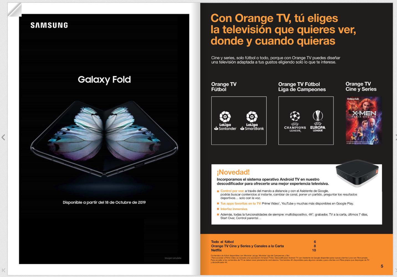 Samsung Galaxy Fold w Europie jeszcze w tym miesiącu - hiszpański Orange puścił farbę 19