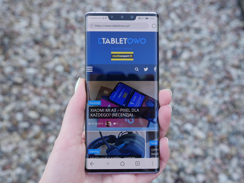 Huawei Mate 30 Pro - żałuję, że mogłam z niego korzystać tylko kilka godzin 23