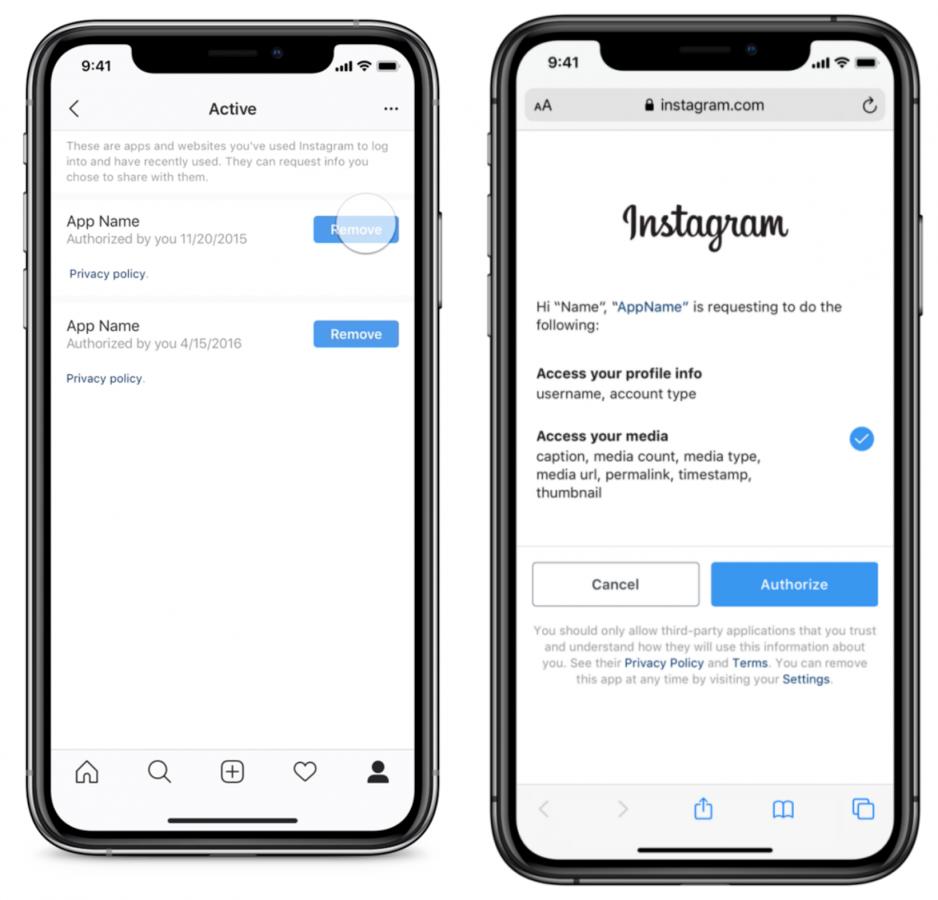Instagram postanowił zapewnić większą kontrolę nad zewnętrznymi usługami