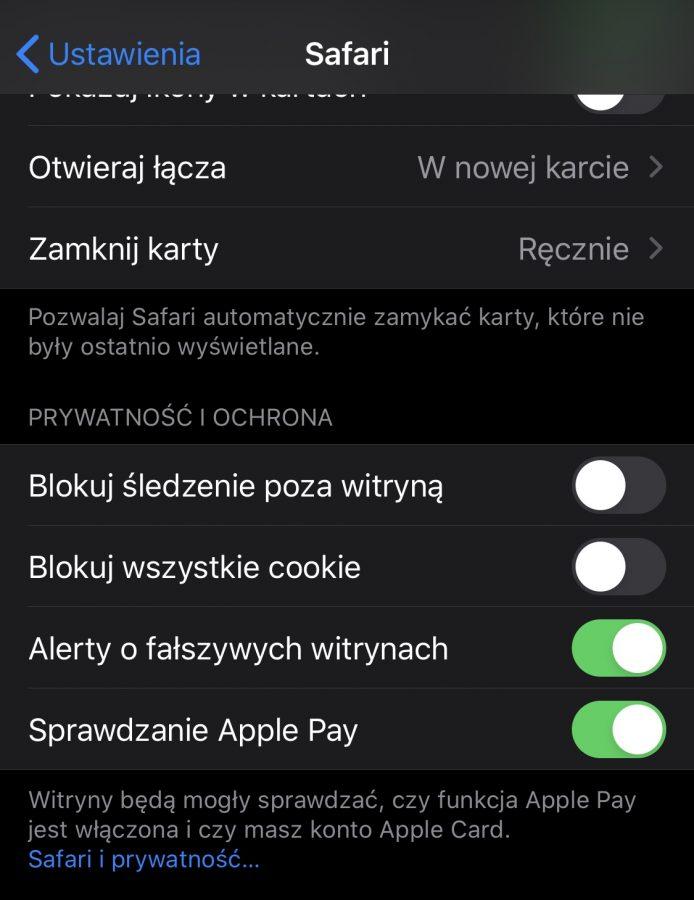 Safari na iOS komunikuje się z chińskimi serwerami Tencent