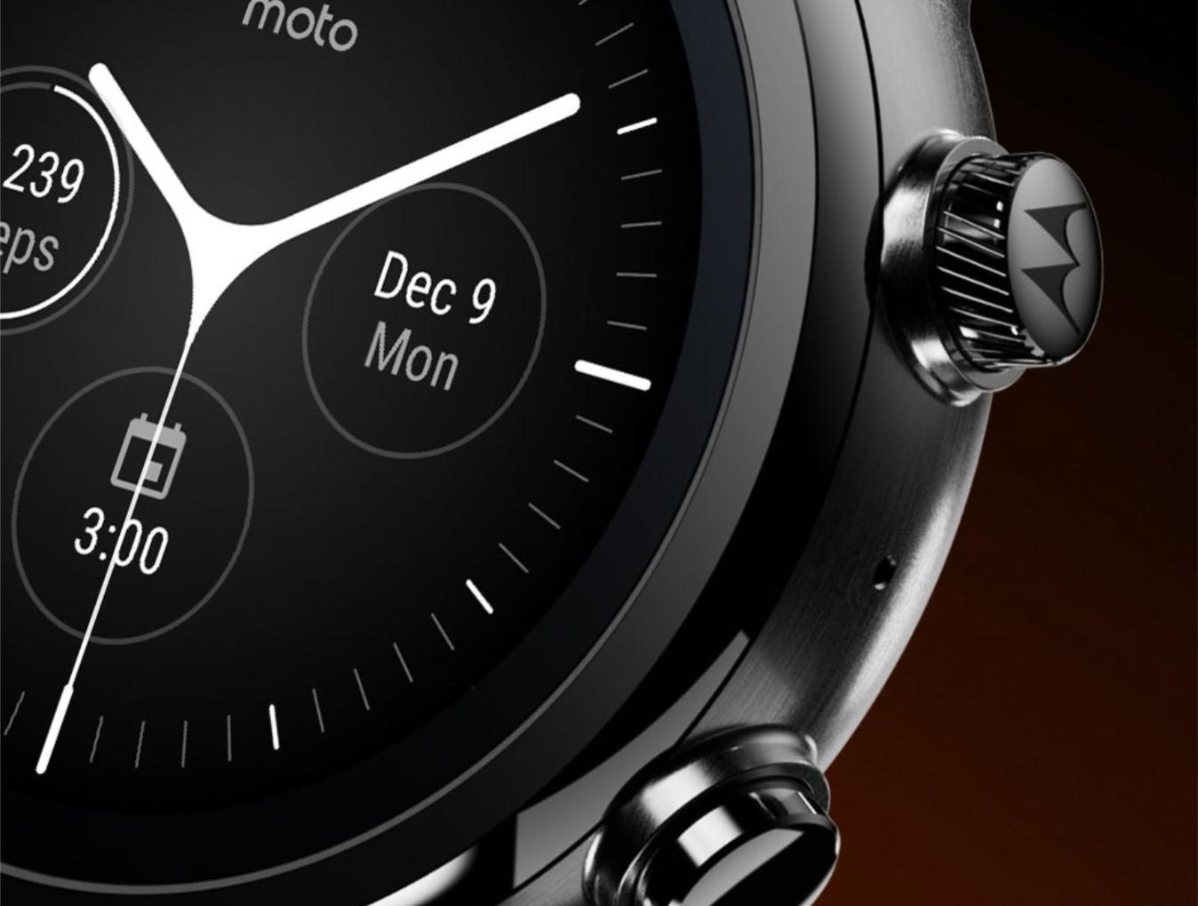 Zegarki Motorola z Wear OS mogą zadebiutować w wakacje