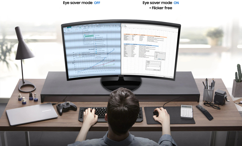 Monitor Samsung LC32F39M
