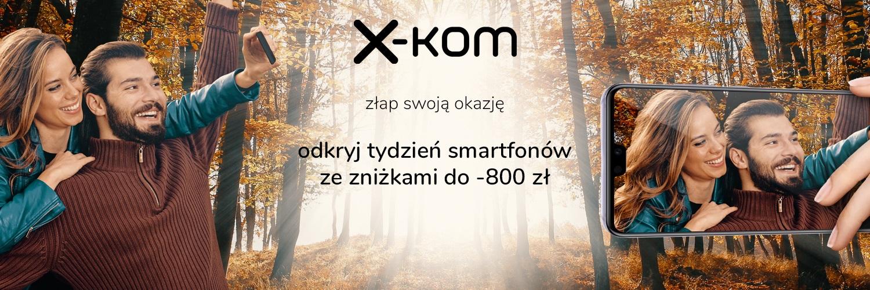 Promocja na smartfony i akcesoria w x-kom