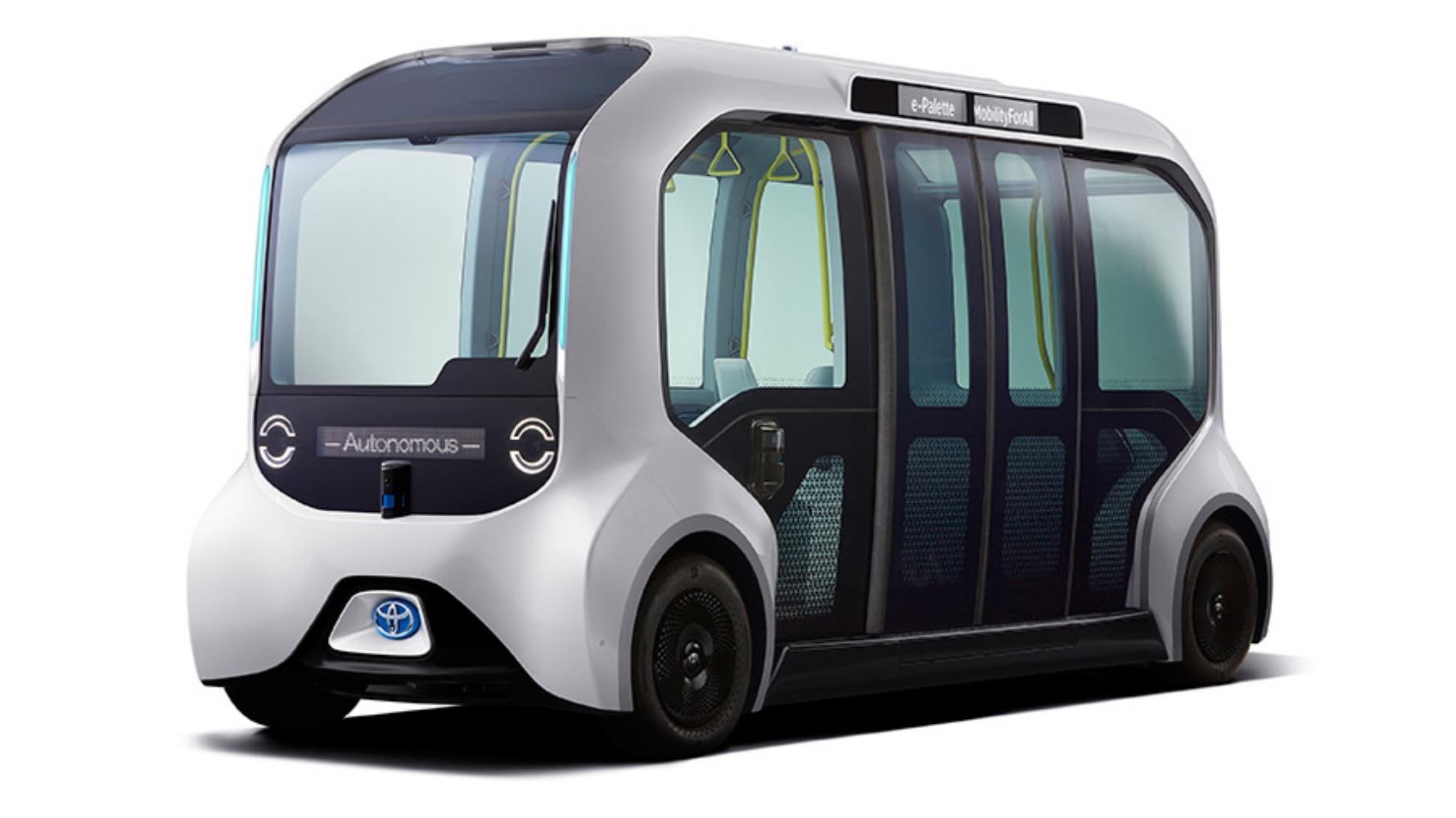 Toyota e-Palette na Igrzyskach Tokio 2020 – oto autonomiczny pojazd dla sportowców