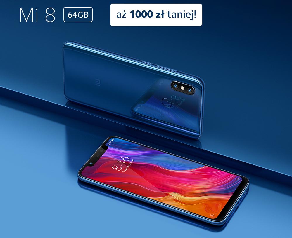 Promocja: Xiaomi Mi 8 z oficjalnej dystrybucji w świetnej cenie