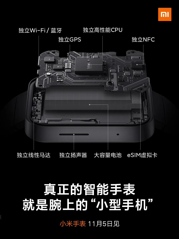 Zegarek Xiaomi Mi Watch będzie bardzo podobny do Apple Watcha 19