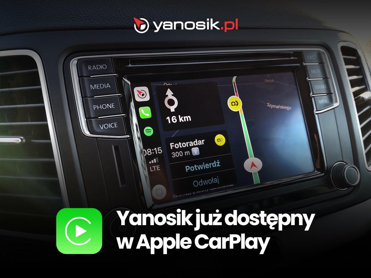 Yanosik wreszcie dostępny w Apple CarPlay. Co jednak z Android Auto? 20