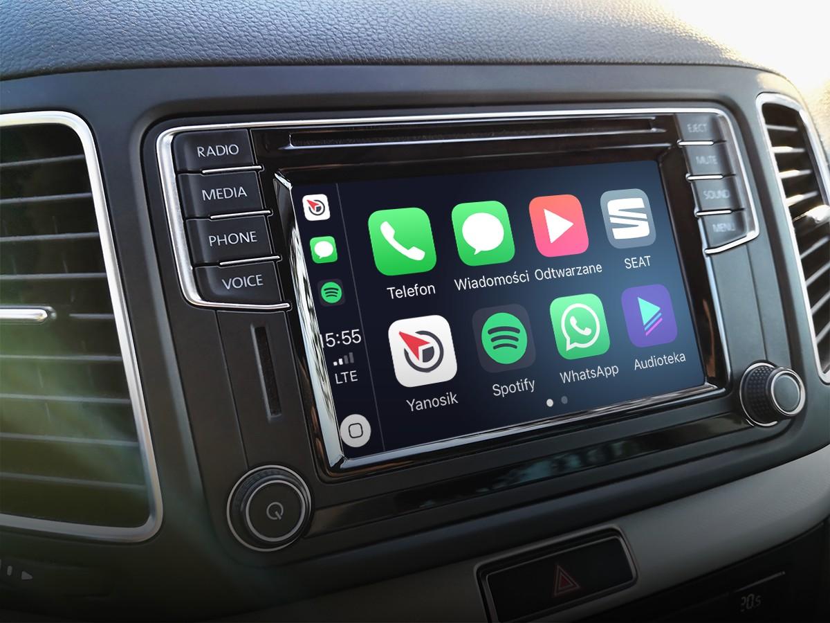 Yanosik wreszcie dostępny w Apple CarPlay. Co jednak z Android Auto?