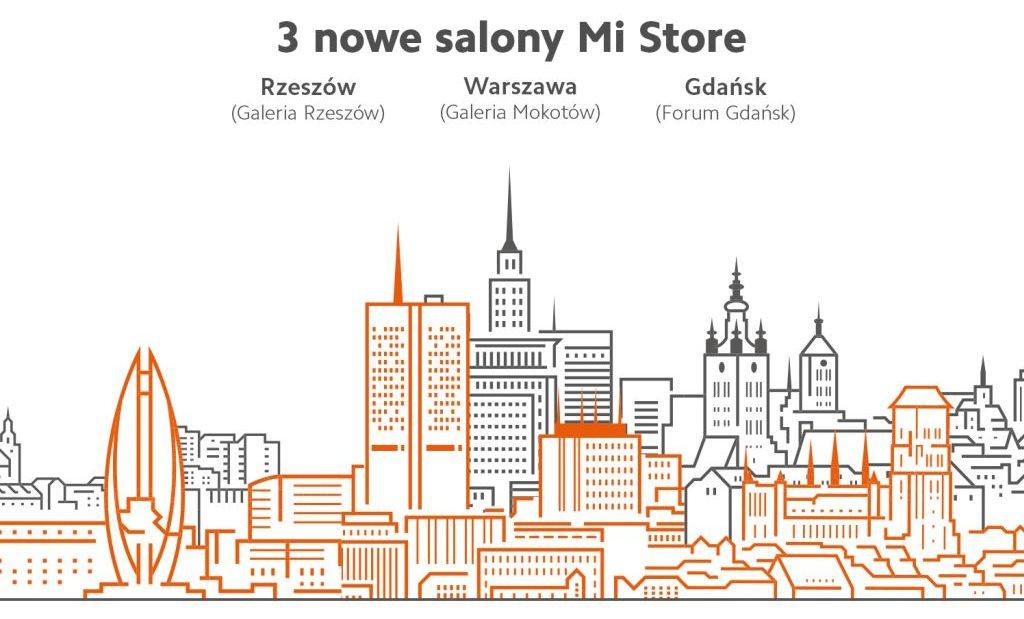 29 listopada - otwarcie trzech nowych salonów Xiaomi w Gdańsku, Rzeszowie i Warszawie. Są promocje