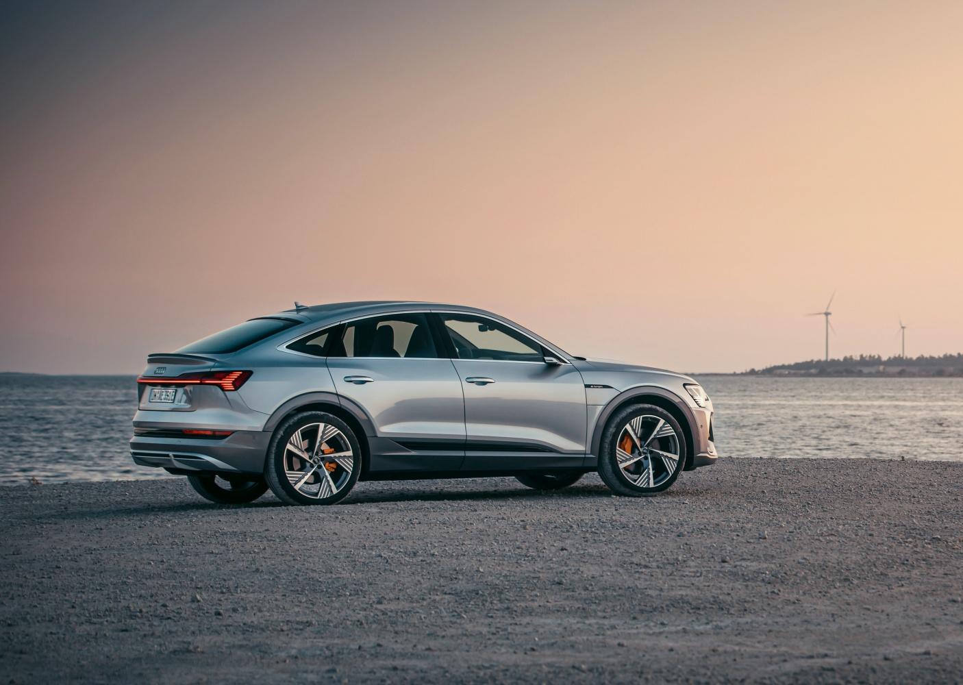 Audi e-tron Sportback – nowe elektryczne cztery pierścienie