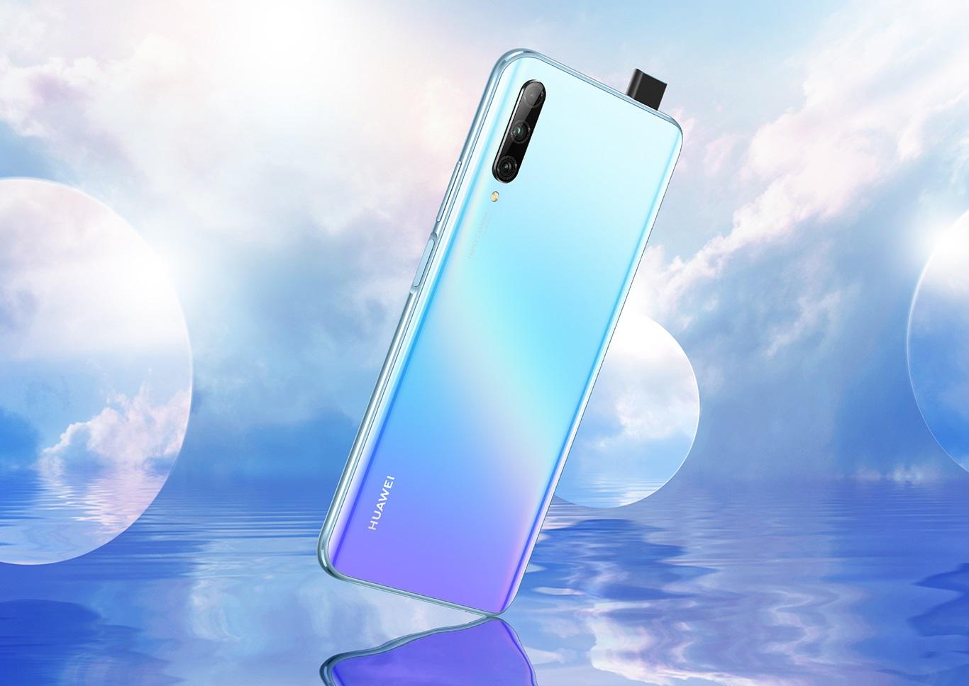 Huawei Y9s oficjalnie. Uwagę zwracają przede wszystkim aparaty