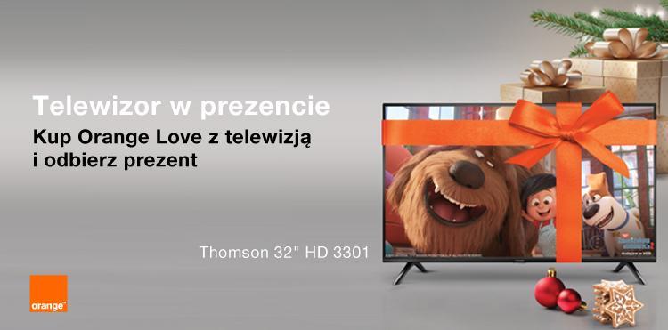 Telewizor i drugi smartfon za złotówkę na święta od Orange 19