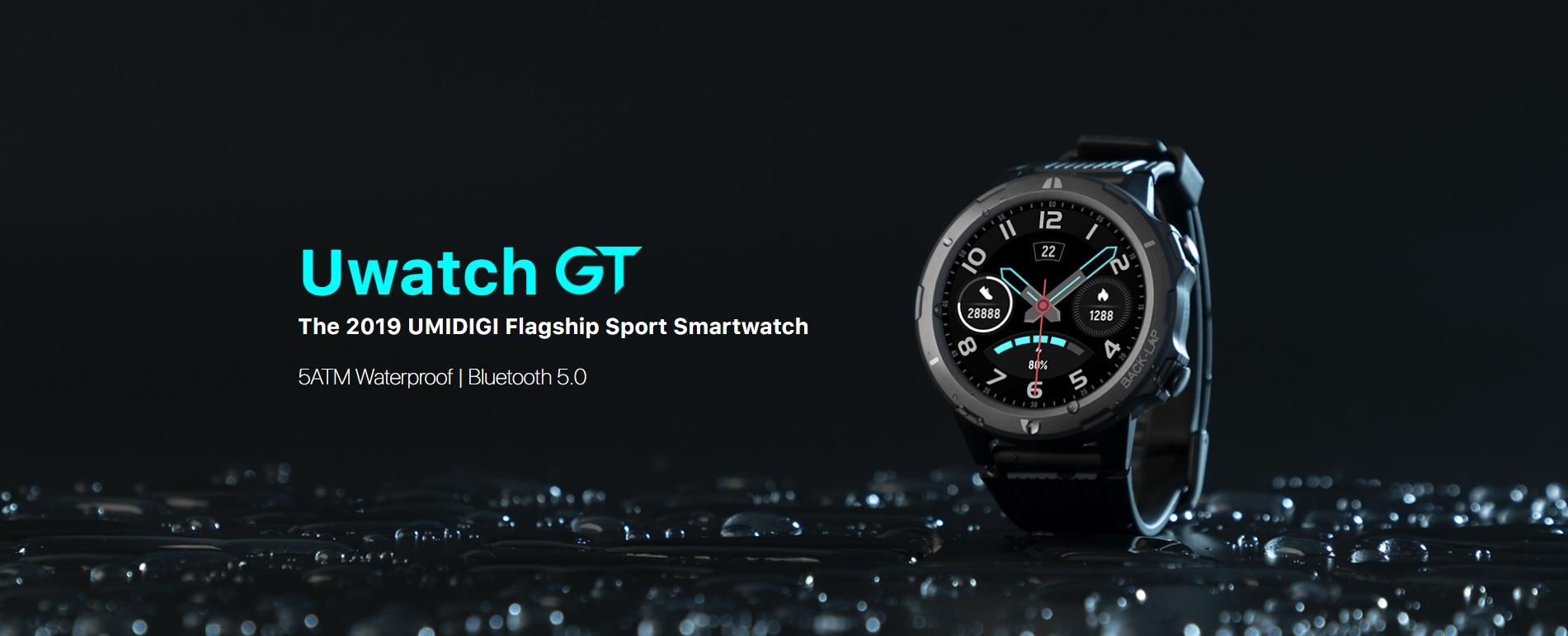 smartwatch UMIDIGI Uwatch GT