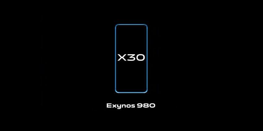 zapowiedź smartfona Vivo X30 z procesorem Exynos 980