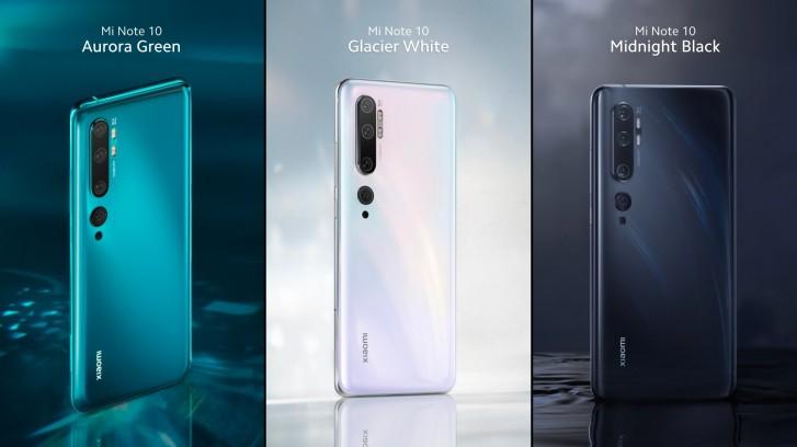 Xiaomi Mi Note 10 ma pięć aparatów, baterię 5260 mAh i właśnie debiutuje w Europie