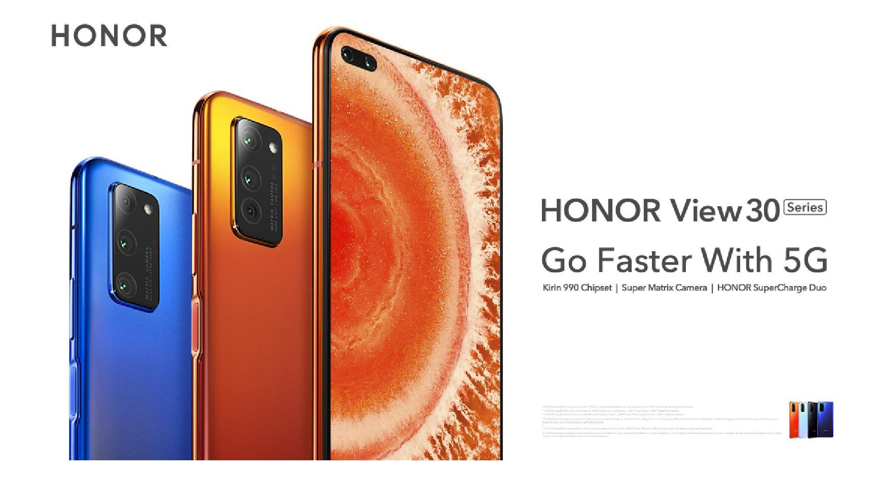 Premiera: Honor View 30 z najlepszym procesorem Huawei, 5G i potrójnym aparatem 20