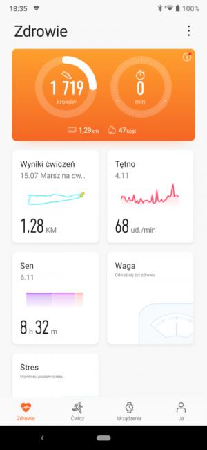 Recenzja smart opaski Honor Band 5 - godny rywal Xiaomi Mi Band 4? 37