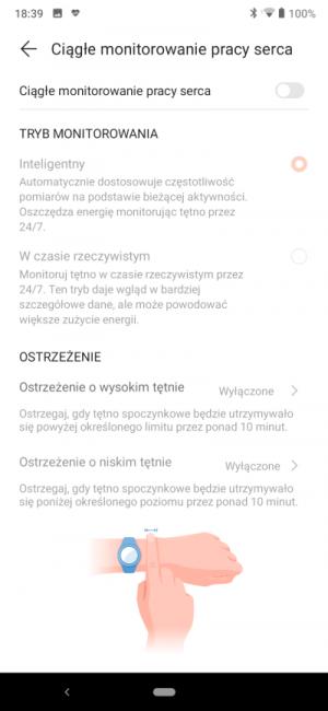 Recenzja smart opaski Honor Band 5 - godny rywal Xiaomi Mi Band 4? 49