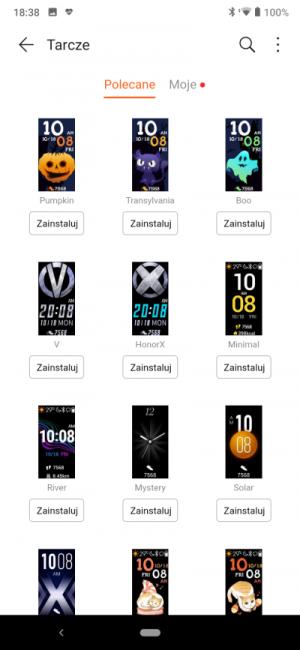 Recenzja smart opaski Honor Band 5 - godny rywal Xiaomi Mi Band 4? 30