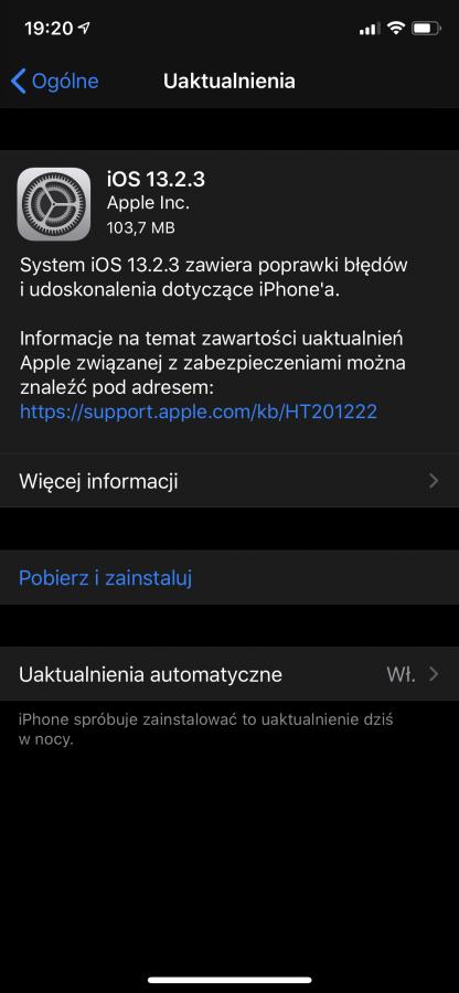 Apple po raz kolejny aktualizuje iOS oraz iPadOS 18