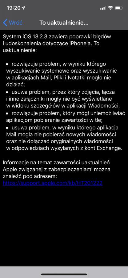 Apple po raz kolejny aktualizuje iOS oraz iPadOS 19