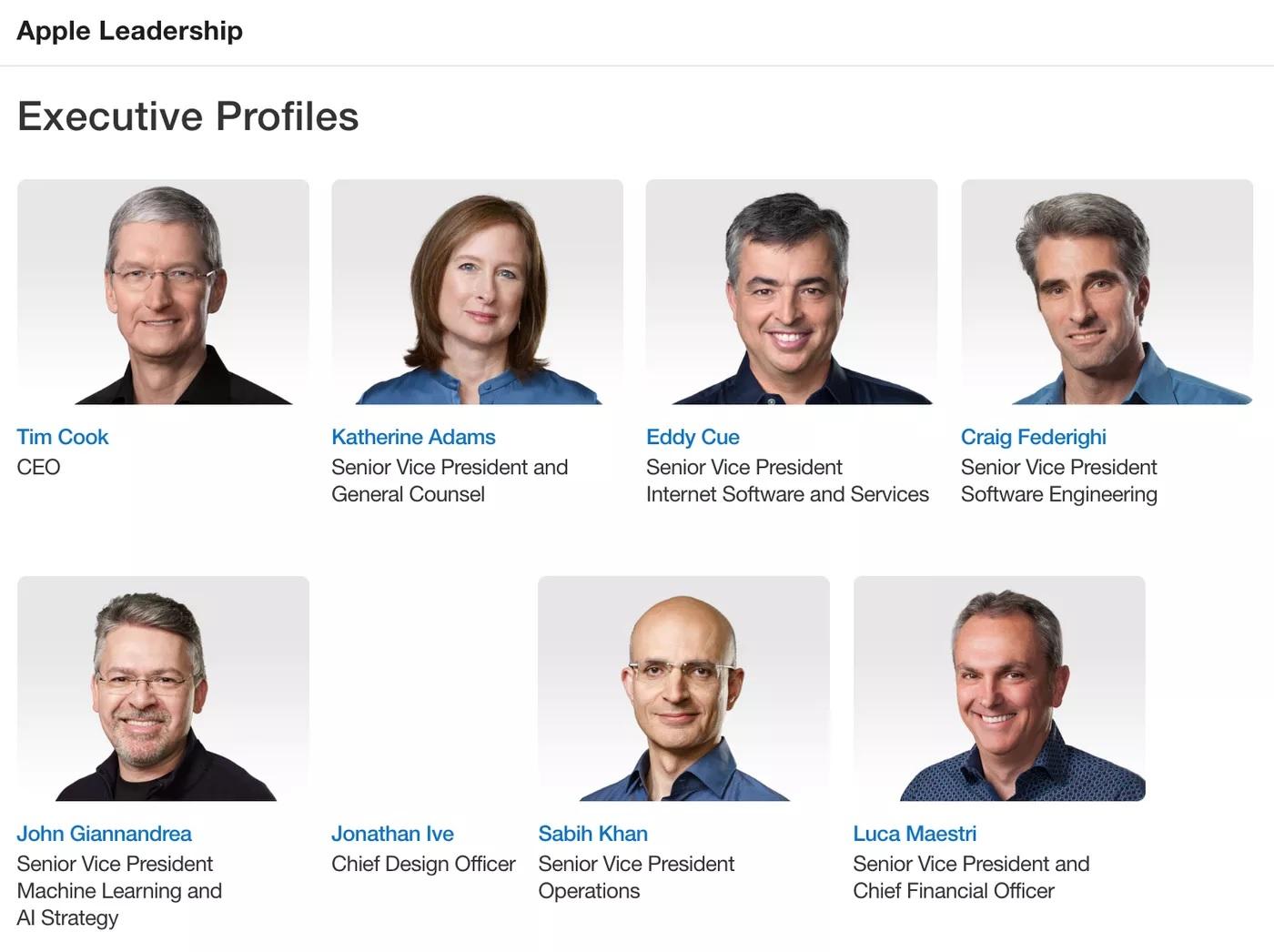 Jony Ive znika ze strony profilu zarządu Apple. To symbol jego odejścia z firmy